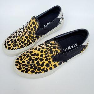 Straye Animal Print Skater Shoes